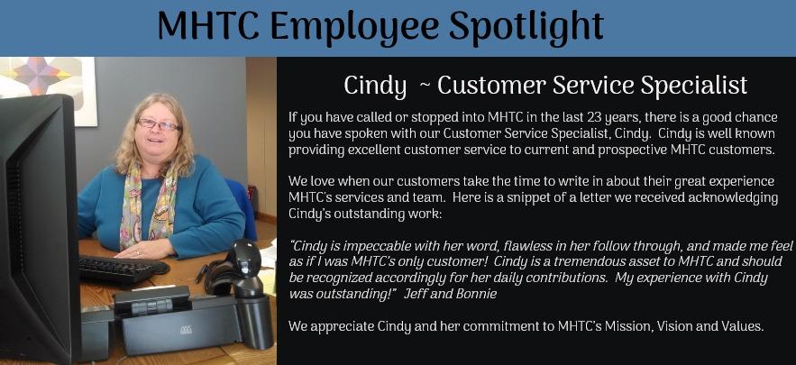 Employee - Cindy Hocking